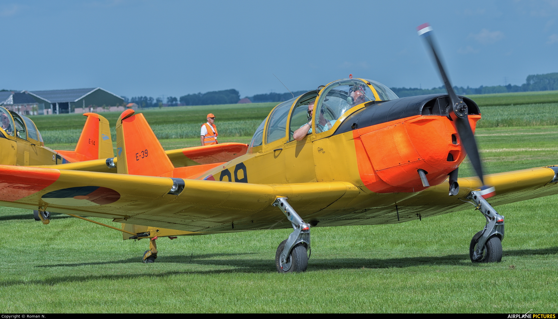 Fokker Four Foundation PH-HOG aircraft at Oostwold