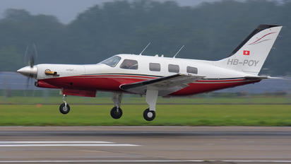 HB-POY - Private Piper PA-46 Malibu / Mirage / Matrix