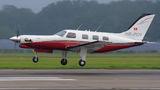 Private Piper PA-46 Malibu / Mirage / Matrix HB-POY at Ostrava Mošnov airport