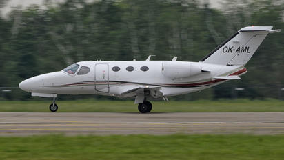 OK-AML - Private Cessna 510 Citation Mustang