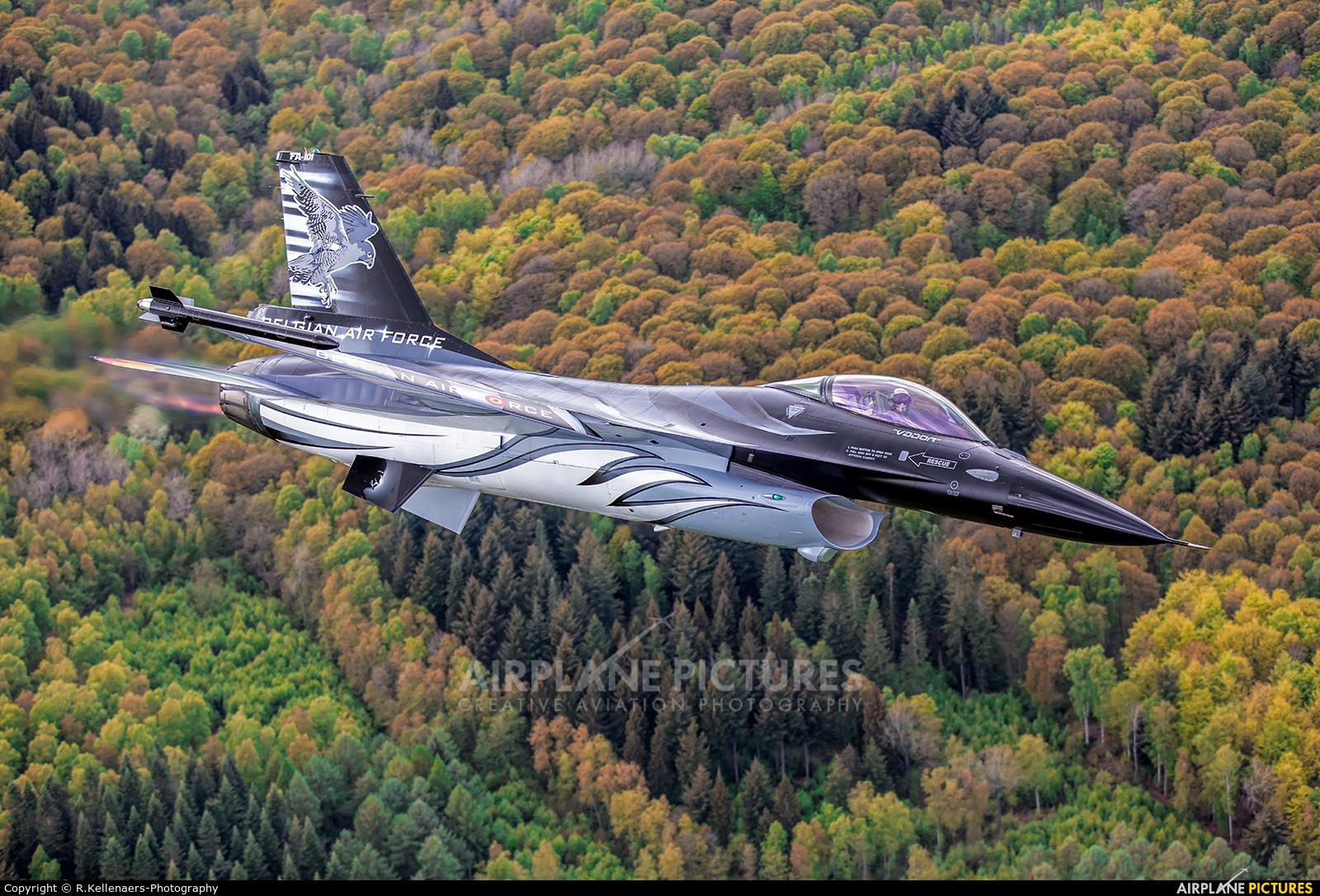 Belgium - Air Force FA-101 aircraft at In Flight - Belgium