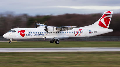 OK-GFS - CSA - Czech Airlines ATR 72 (all models)
