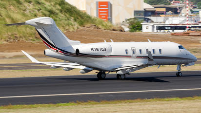 N767QS - Private Bombardier BD-100 Challenger 300 series