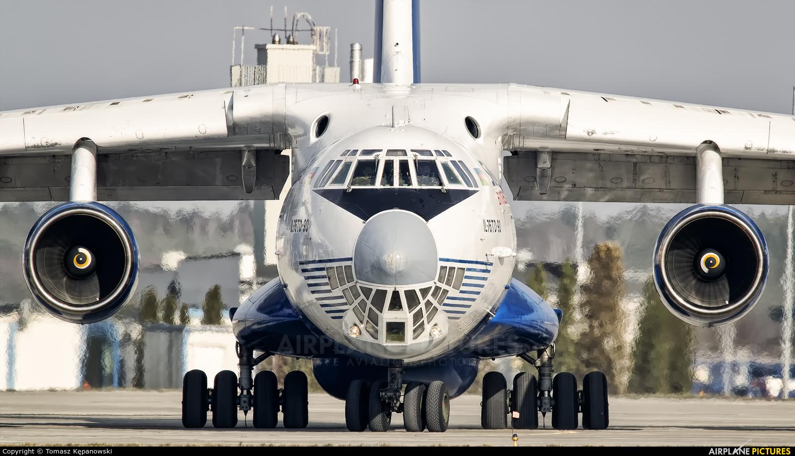 Silk Way Airlines 4K-AZ101 aircraft at Rzeszów-Jasionka