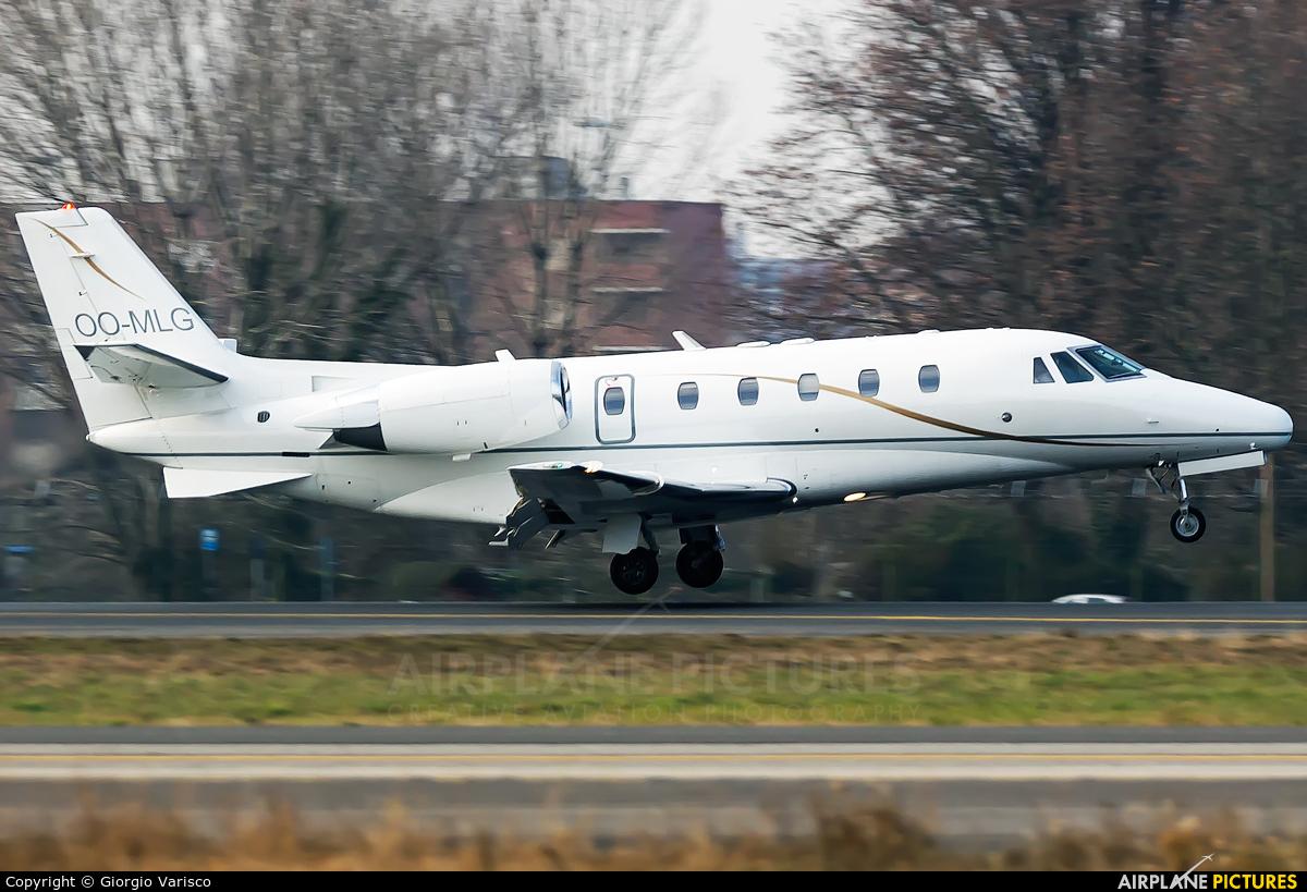 Abelag Aviation OO-MLG aircraft at Milan - Linate