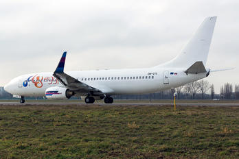 OM-GTE - FlyEgypt Boeing 737-8AS