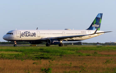 N594JB - JetBlue Airways Airbus A320
