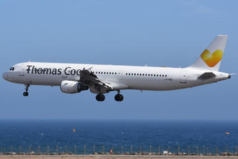 LY-VEE - Thomas Cook Airbus A321