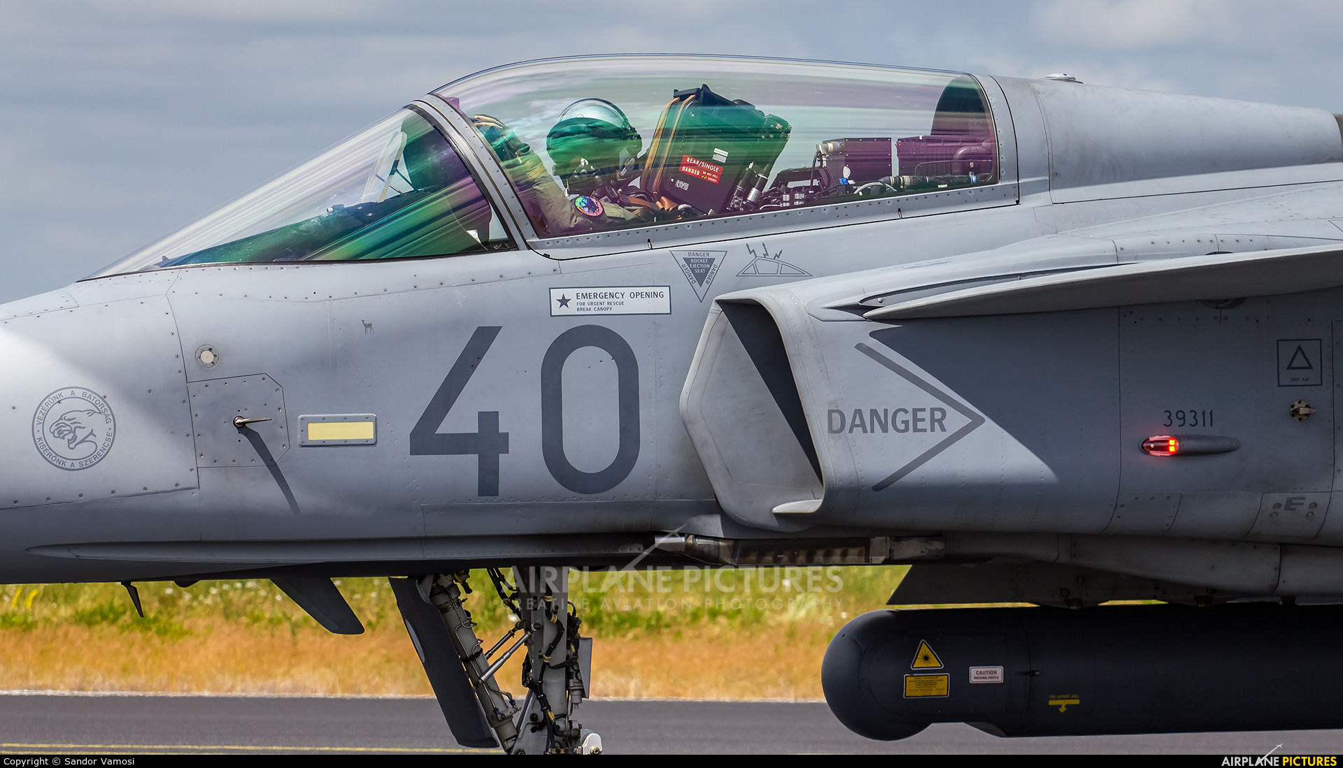 Hungary - Air Force 40 aircraft at Schleswig-Jagel