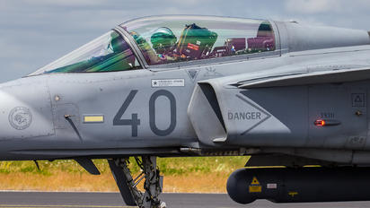 40 - Hungary - Air Force SAAB JAS 39C Gripen