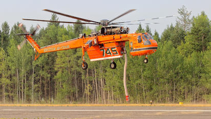N172AC - Erickson Air-Crane Sikorsky S-64E/F Skycrane