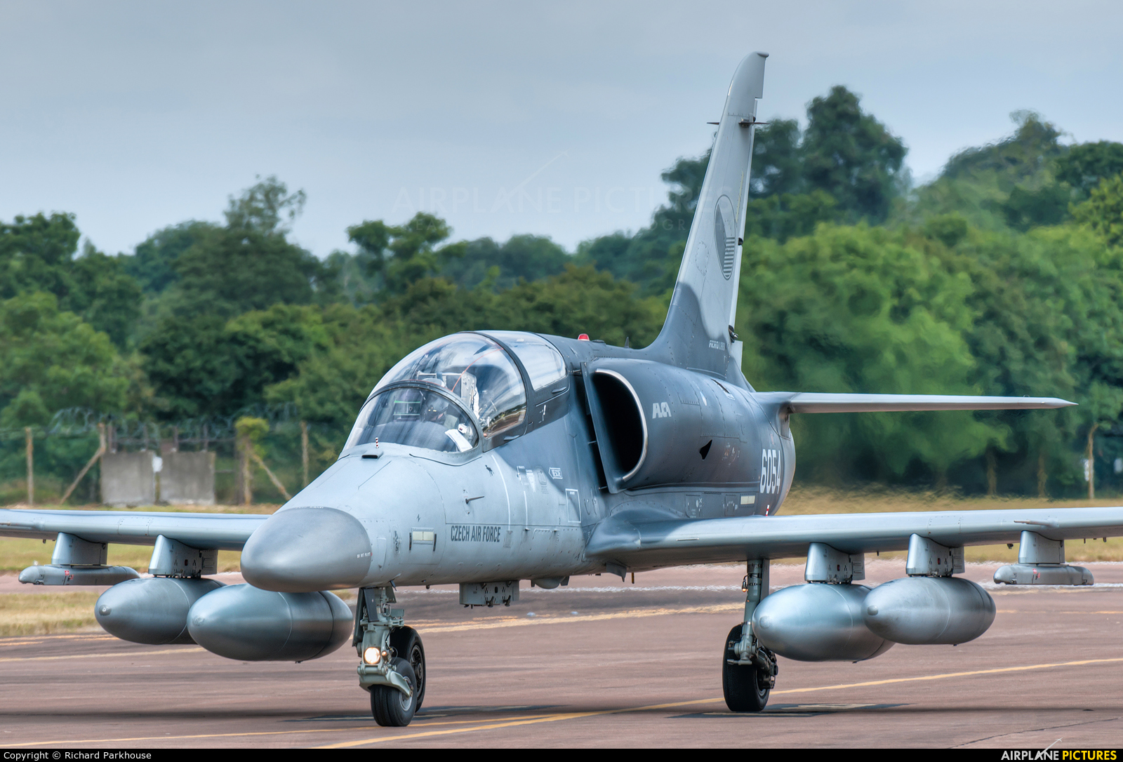Czech - Air Force 6054 aircraft at Fairford