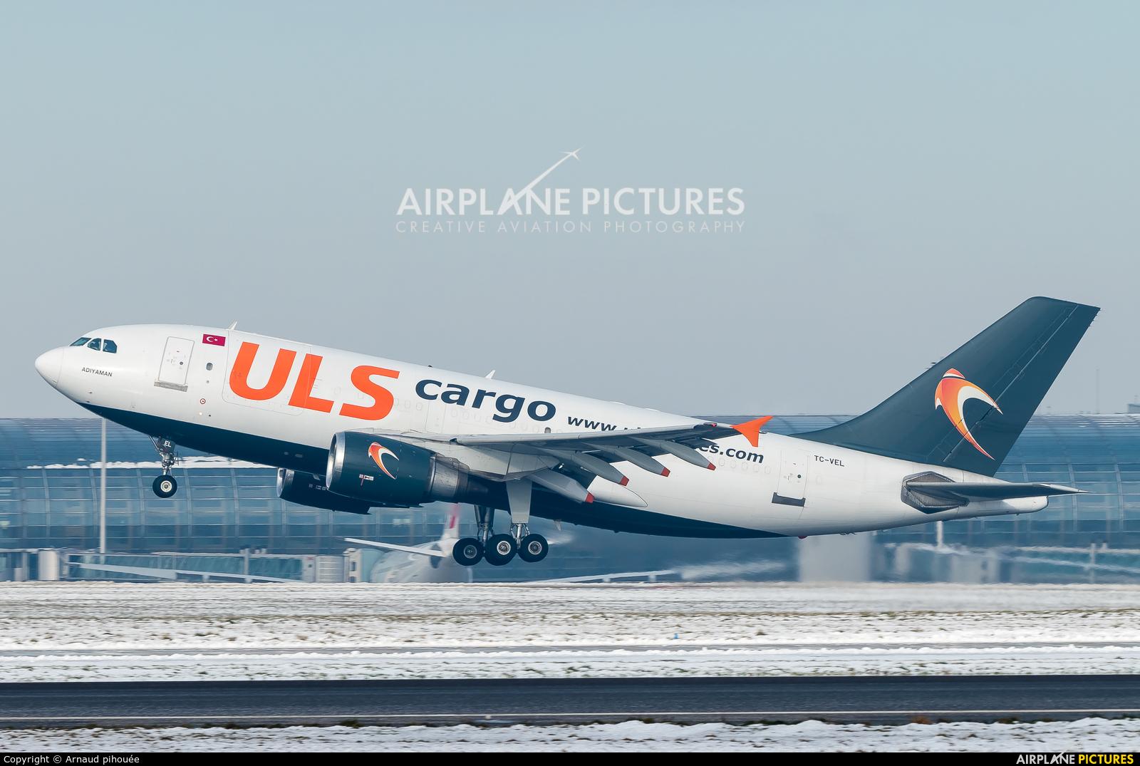 ULS Cargo TC-VEL aircraft at Paris - Charles de Gaulle