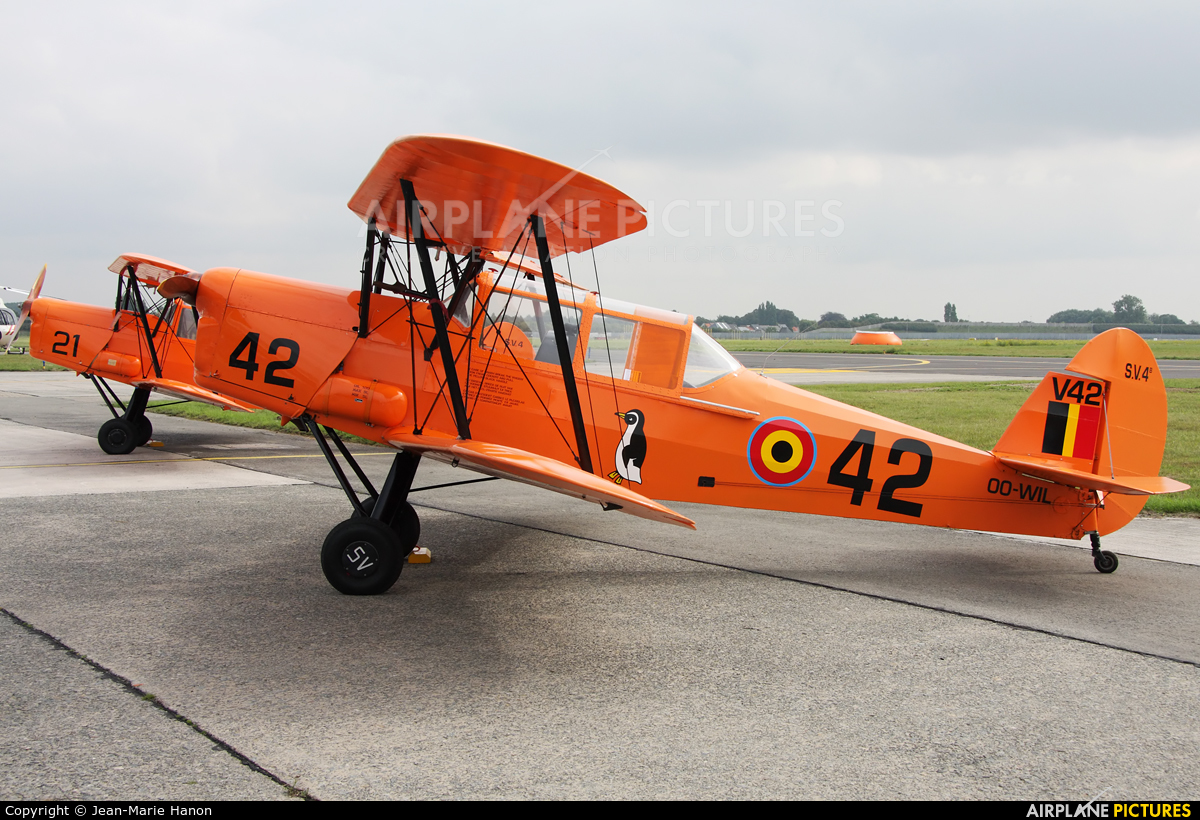 Private OO-WIL aircraft at Melsbroek