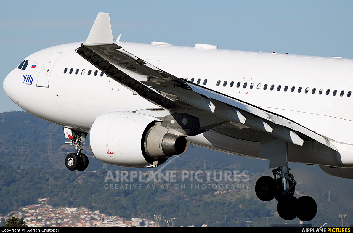 I-Fly Airlines EI-GCU aircraft at Barcelona - El Prat