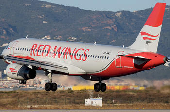 VP-BWX - Red Wings Airbus A320