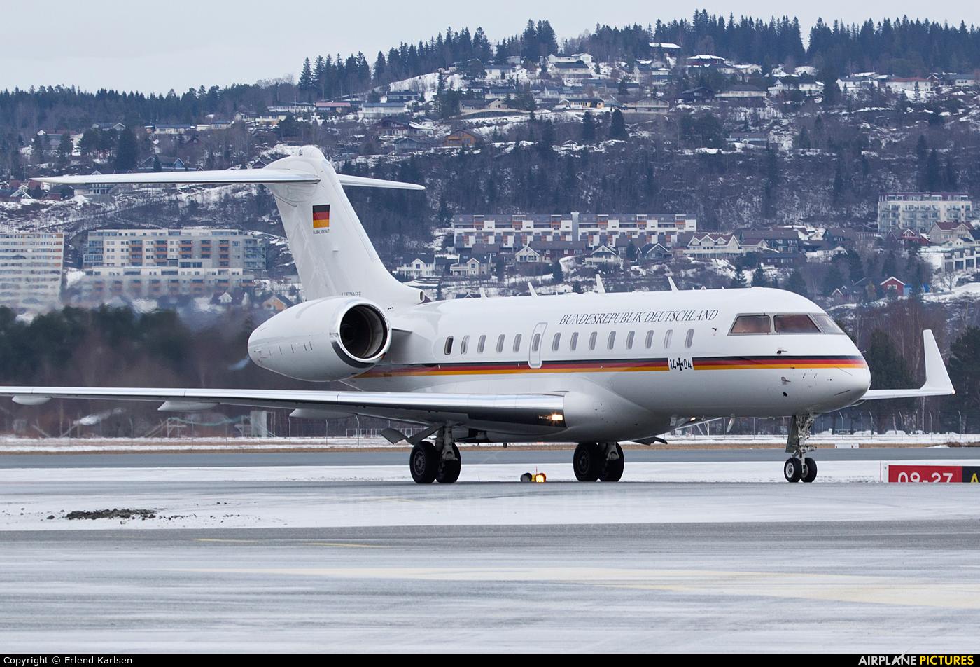 Germany - Air Force 14+04 aircraft at Trondheim - Vaernes