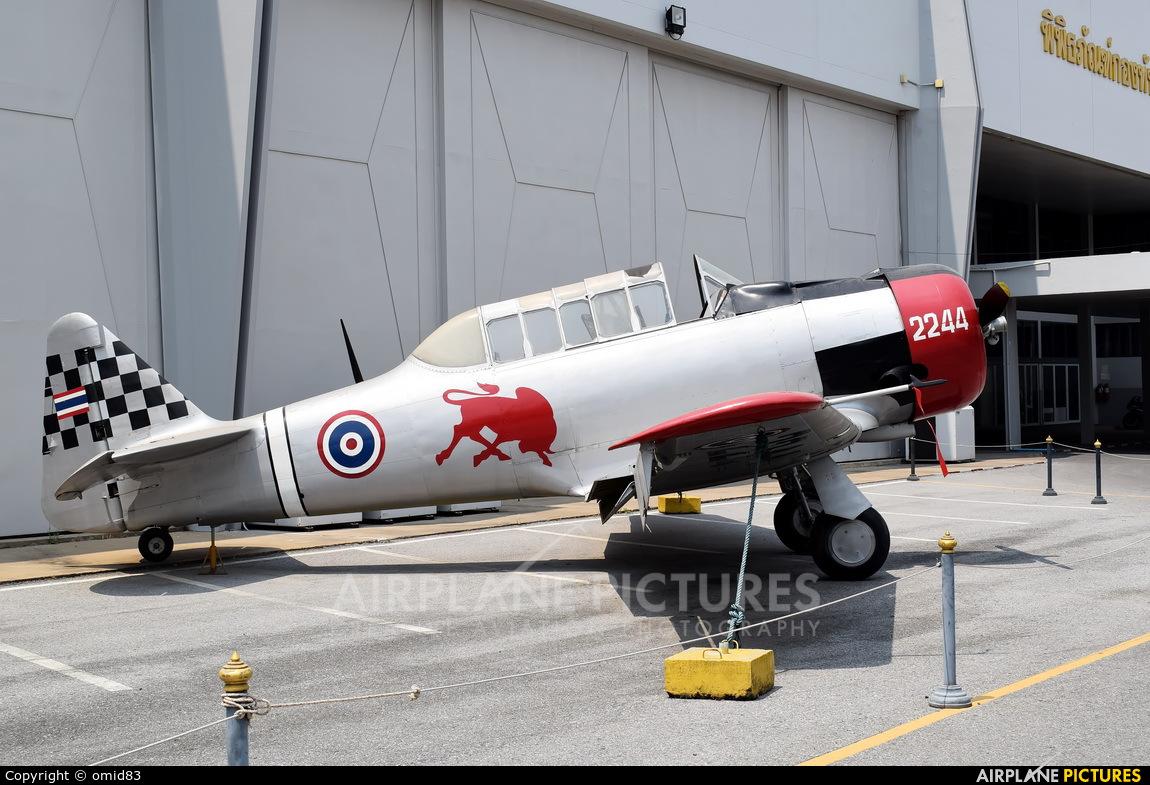 Thailand - Air Force 2244 aircraft at Bangkok - Don Muang