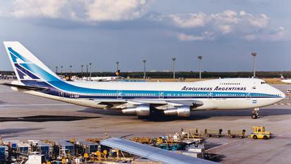 LV-OEP - Aerolineas Argentinas Boeing 747-200