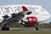 G-VROM - Virgin Atlantic Boeing 747-400 aircraft