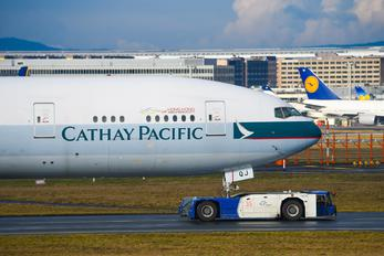 B-KQJ - Cathay Pacific Boeing 777-300ER