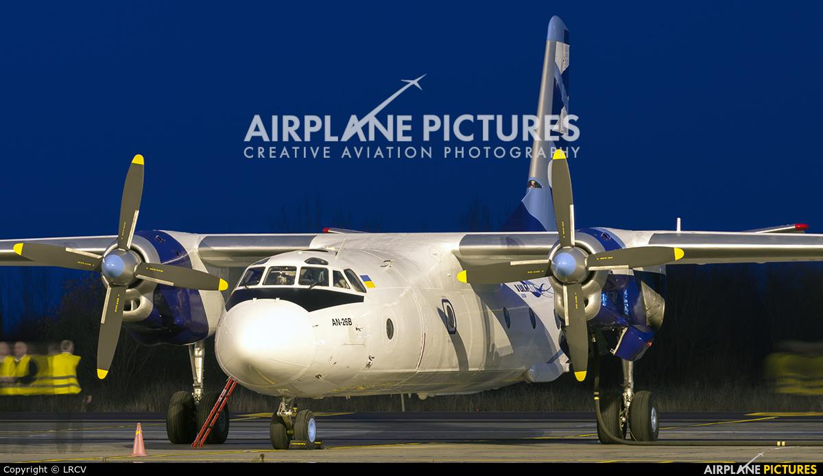 Vulkan Air UR-CQD aircraft at Craiova