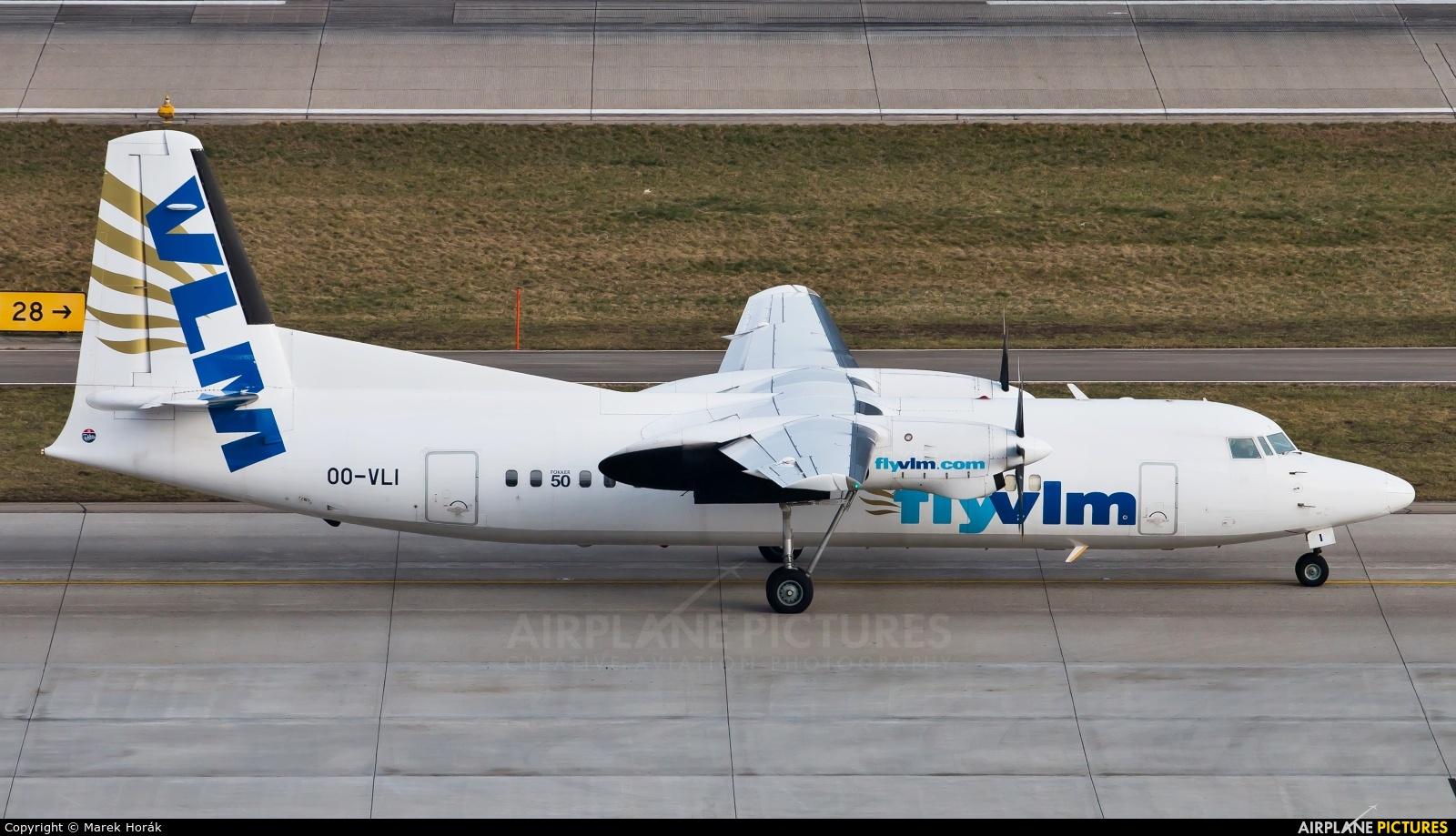 VLM Airlines Fokker 50 OO-VLI