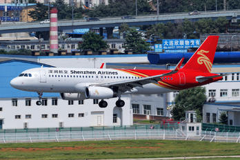 B-1602 - Shenzhen Airlines Airbus A320