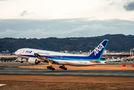 ANA - All Nippon Airways Boeing 777-200 JA702A at Osaka - Itami Intl airport
