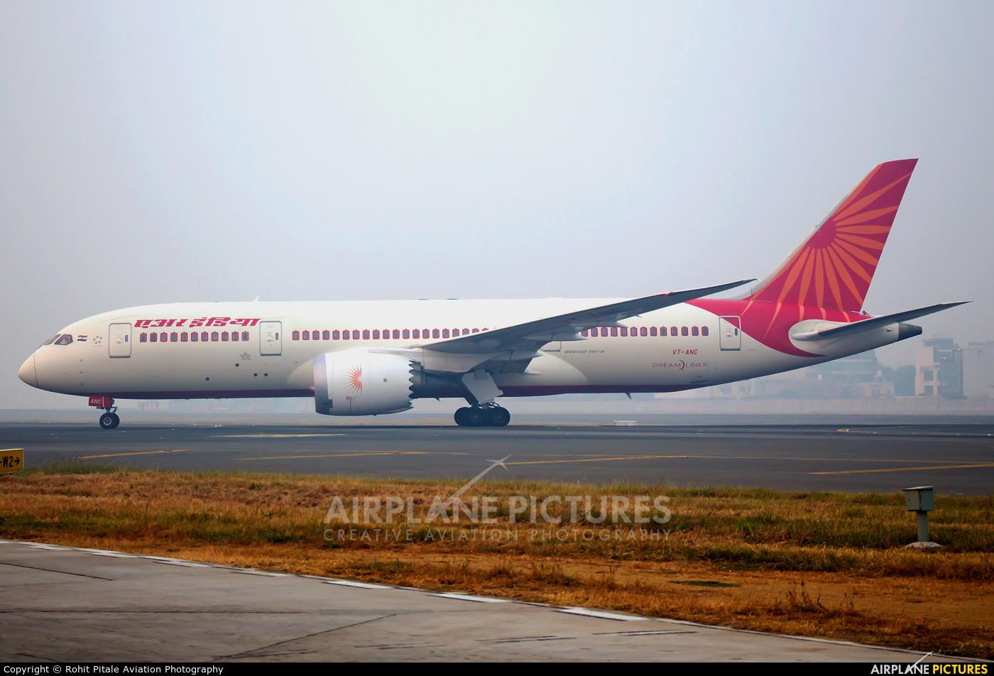 Air India VT-ANC aircraft at Delhi - Indira Gandhi Intl