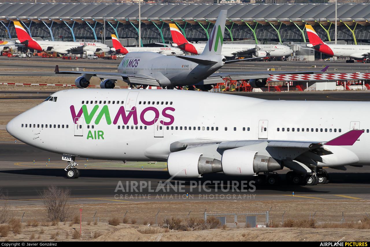 Wamos Air EC-KXN aircraft at Madrid - Barajas
