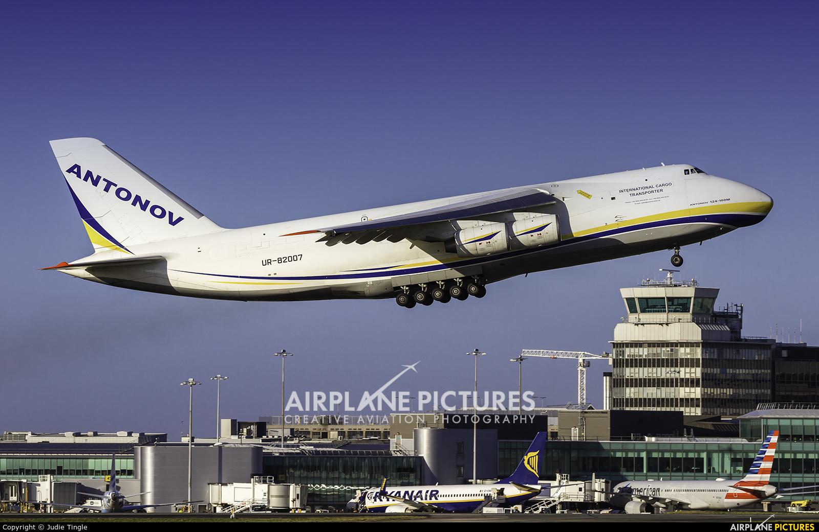 Antonov Airlines /  Design Bureau UR82007 aircraft at Manchester