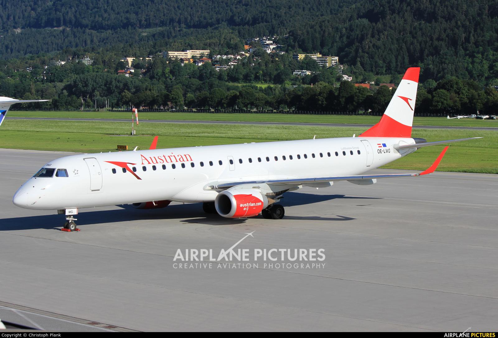 Austrian Airlines/Arrows/Tyrolean OE-LWG aircraft at Innsbruck