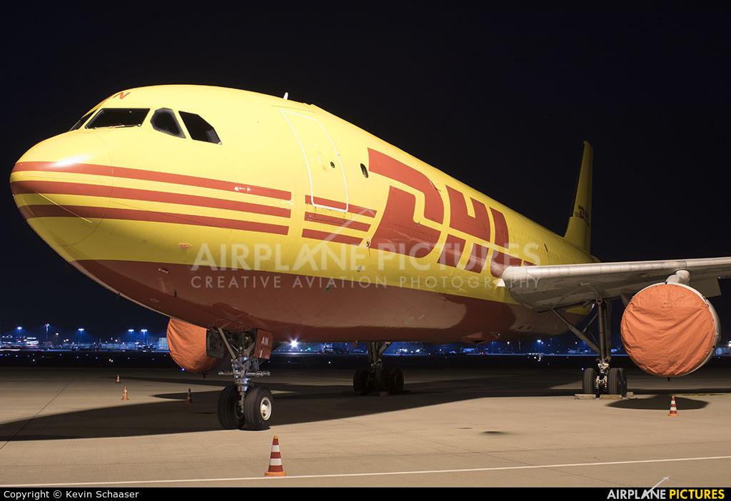 DHL Cargo D-AEAN aircraft at Stuttgart