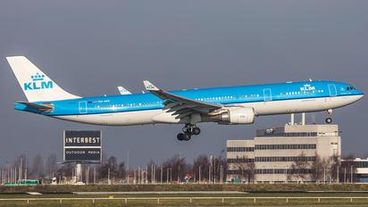 PH-AKE - KLM Airbus A330-300