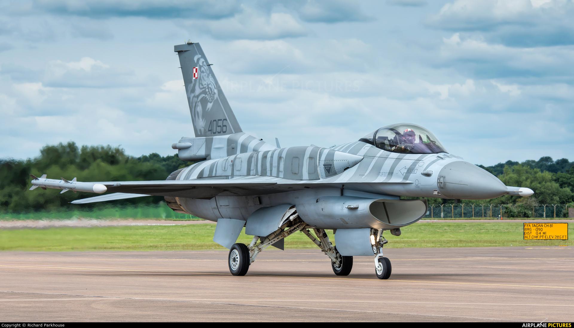 Poland - Air Force 4056 aircraft at Fairford