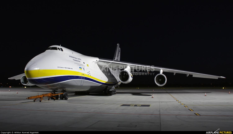 Antonov Airlines /  Design Bureau UR-82009 aircraft at Warsaw - Frederic Chopin