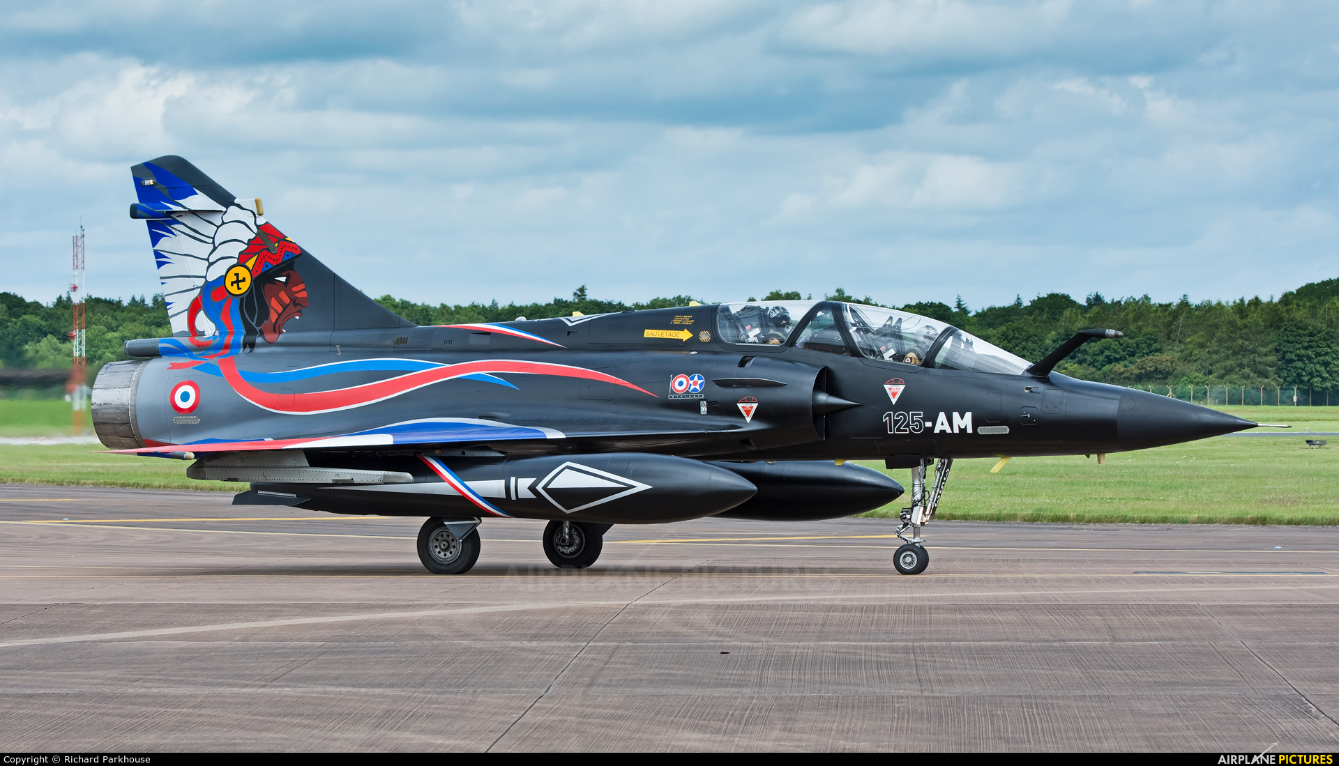 France - Air Force 353 aircraft at Fairford