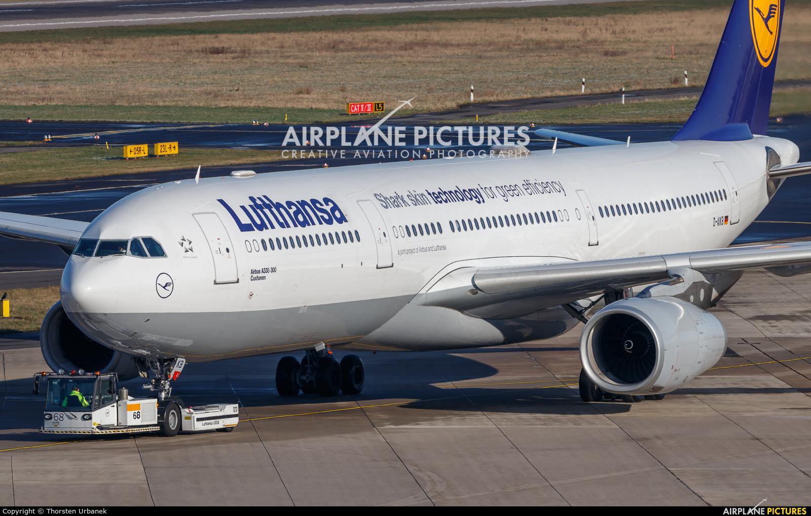 Lufthansa D-AIKB aircraft at Düsseldorf
