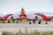 E.25-12 - Spain - Air Force : Patrulla Aguila Casa C-101EB Aviojet aircraft