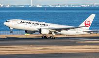 JA007D - JAL - Japan Airlines Boeing 777-200 aircraft