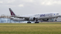 A7-BAF - Qatar Airways Boeing 777-300ER aircraft