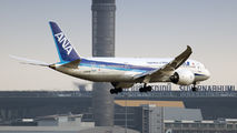 JA834A - ANA - All Nippon Airways Boeing 787-8 Dreamliner aircraft