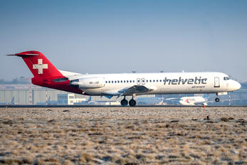 HB-JVF - Helvetic Airways Fokker 100
