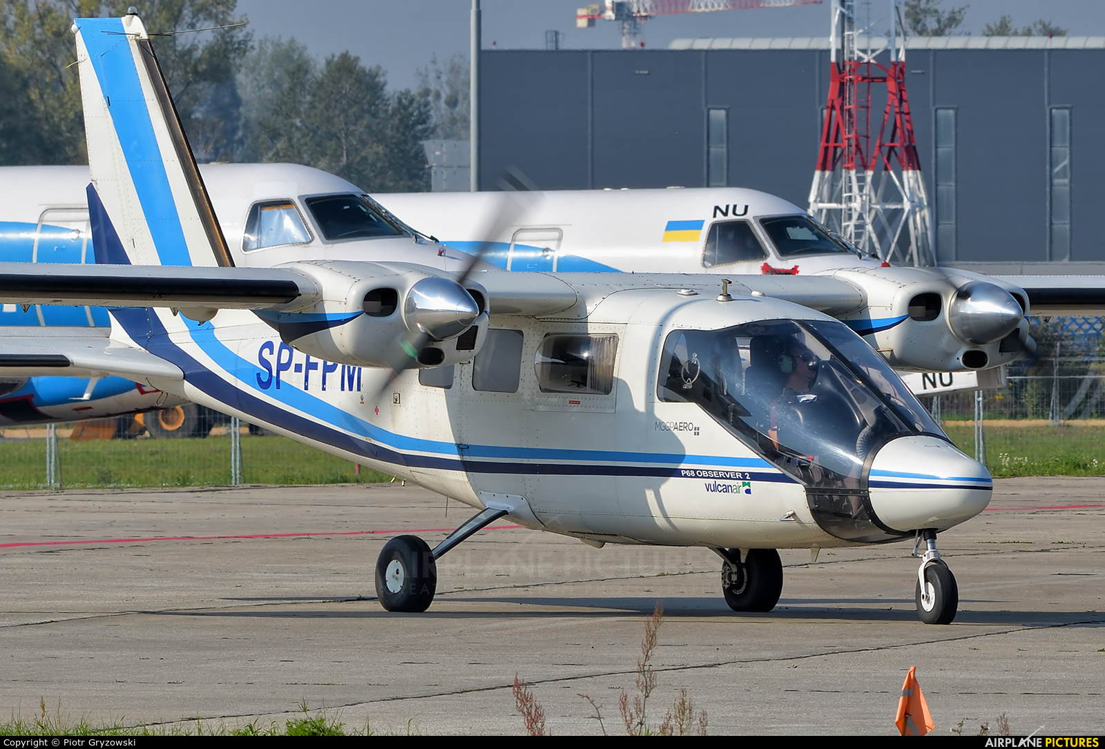 MGGP Aero SP-FPM aircraft at Katowice - Pyrzowice