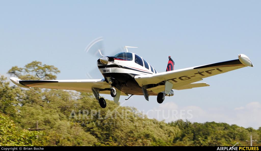 Private TG-TFI aircraft at Iztapa