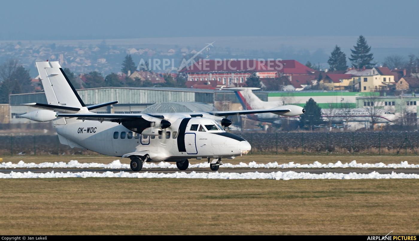 Silver Air OK-WDC aircraft at Uherské Hradiště - Kunovice