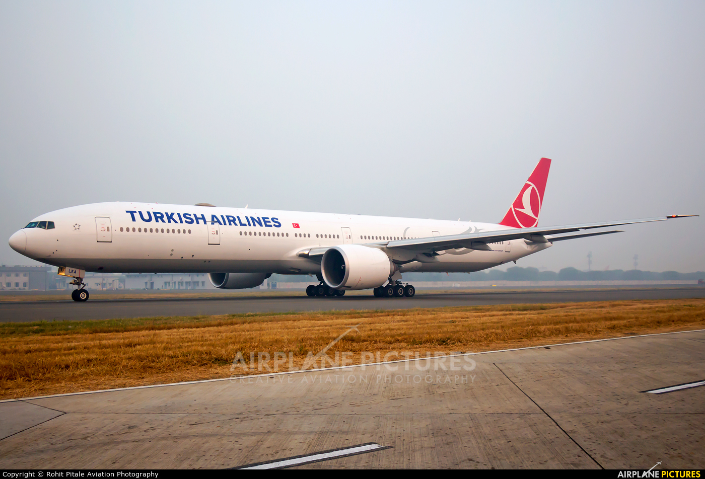 Turkish Airlines TC-LKA aircraft at Delhi - Indira Gandhi Intl