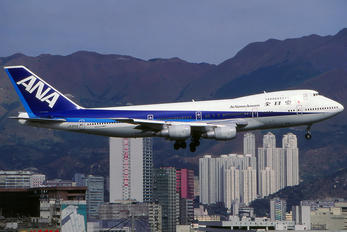 JA8192 - ANA - All Nippon Airways Boeing 747-200