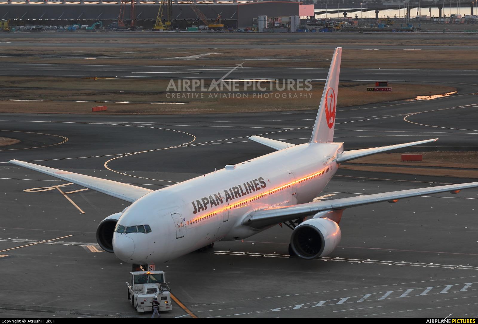 JAL - Japan Airlines JA8985 aircraft at Tokyo - Haneda Intl